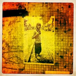 hong kong graffiti - dude
