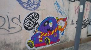 hong kong graffiti - hungry