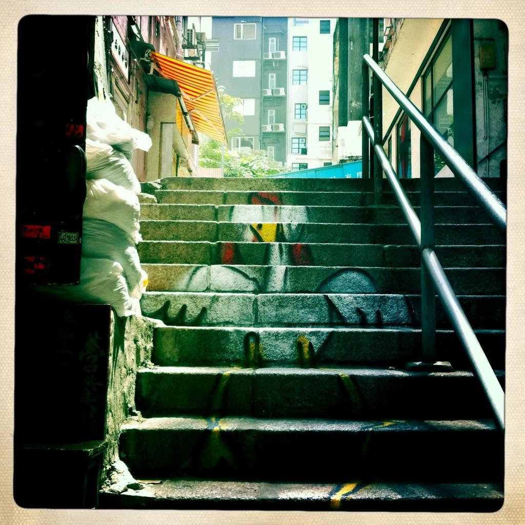 sheung wan - hong kong graffiti - chicken