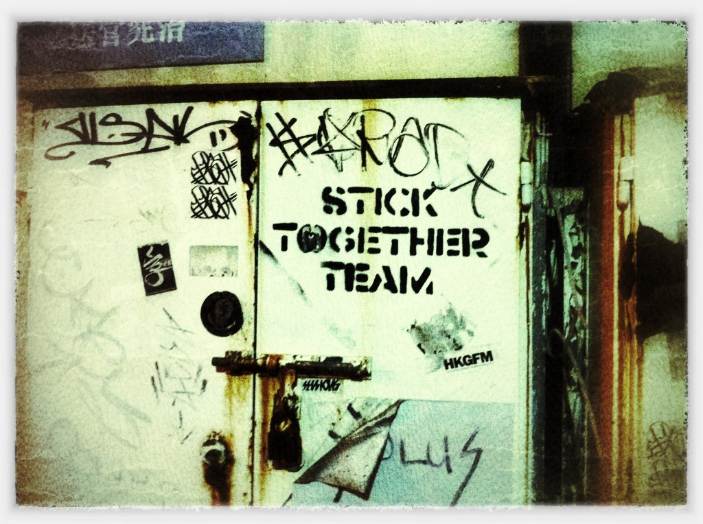 Hong kong graffit - stick together team
