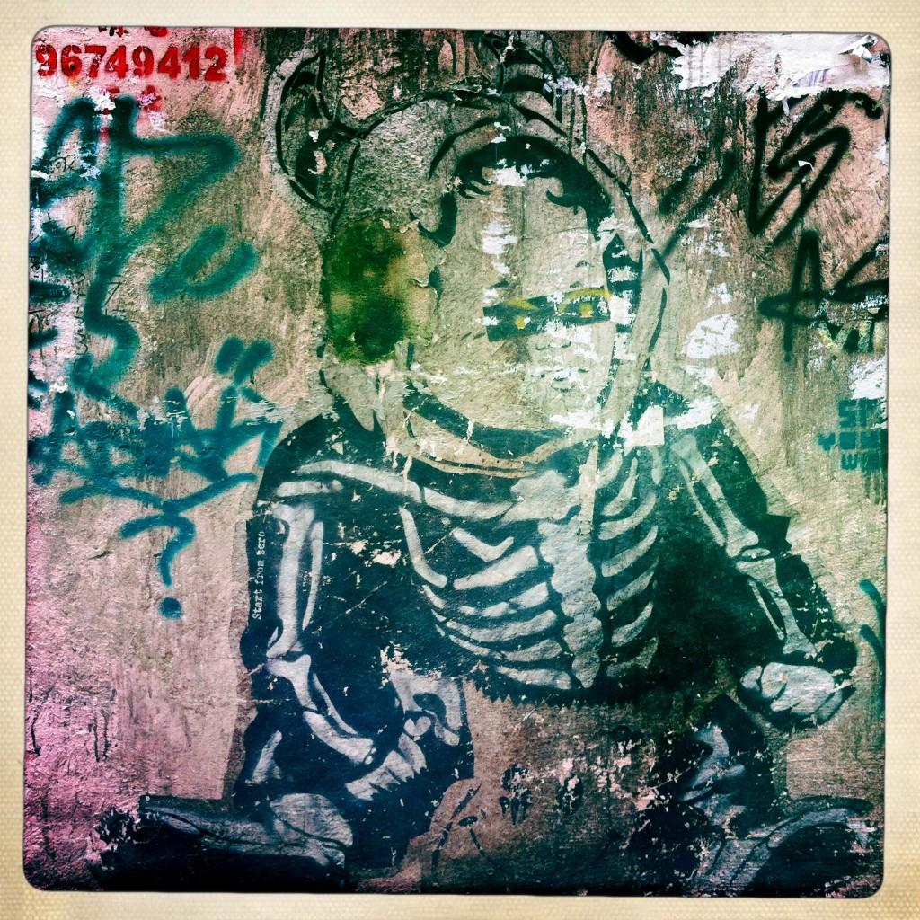 hong kong graffiti - body